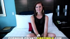 Private Casting X – My first natural red-haired pussy