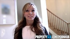 PropertySex – Sexy petite realtor fucks pervert pretending to buy house