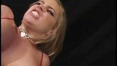 Babe Alicia Rhodes gets a double penetration