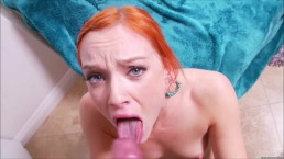 FRECKLES: A Redhead Cumshot Compilation